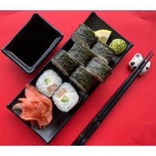 Sake Kunsei Cheese Maki -kupināts lasis,avokado vai gurķis