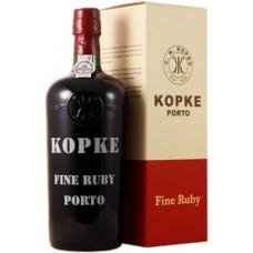 Kopke Fine Ruby 19.5% 0.75L with Gift Box