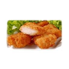 Panētas vistas filejas 5gab mērce
